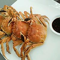 美味蒸河蟹的做法图解7