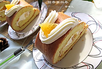 橙香蛋糕卷#豆果五周年#的做法