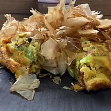 #美食视频挑战赛#低脂大阪烧