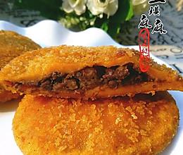 红豆沙南瓜饼的做法