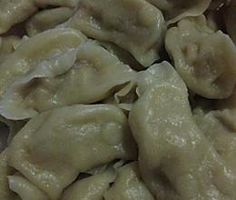 大葱猪肉馅的饺子的做法