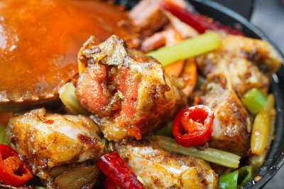 香辣蟹 | 日食记