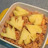芝士控的快手晚餐--芝士菠萝焗饭的做法图解3