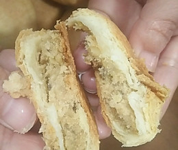 肉松绿豆饼的做法