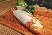 泰式盐烤鱼(附泰式海鲜蘸料)#松下H3201机械式烤箱测评#的做法