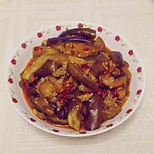 炒茄子肉末