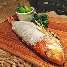泰式盐烤鱼(附泰式海鲜蘸料)#松下H3201机械式烤箱测评#