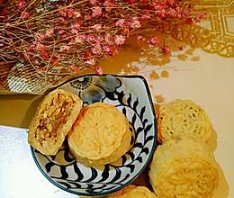 果仁酥饼 老式月饼改良的做法