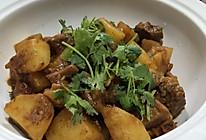 番茄牛腩炖土豆的做法