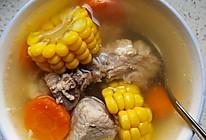 清淡的胡萝卜玉米排骨汤的做法