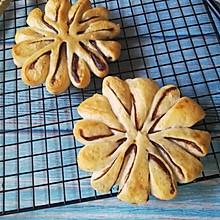 枣花形豆沙面包