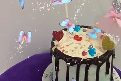 生日蛋糕(水果夹心)