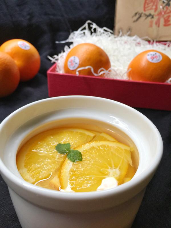 【甜品】冰糖蒸橙