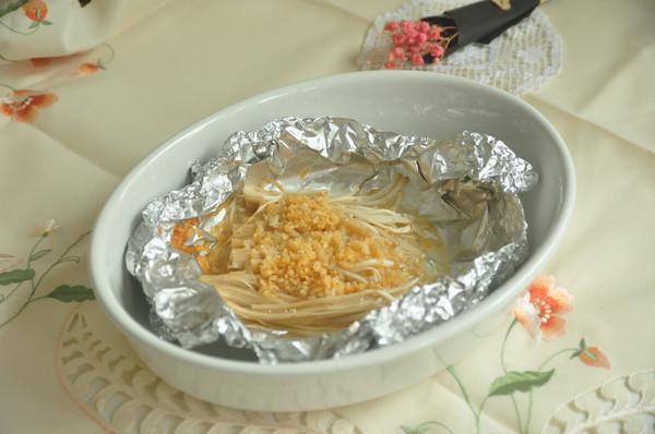 #炎夏消暑就吃「它」#蒜蓉金针菇
