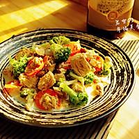 金枪鱼超简单美味的华丽转身------西式奶油蘑菇西兰花