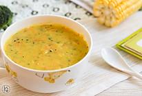 杂蔬玉米浓汤的做法