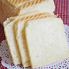 基础面包——白土司(中种法)