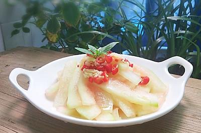 #炎夏消暑就吃「它」#凉拌西瓜皮