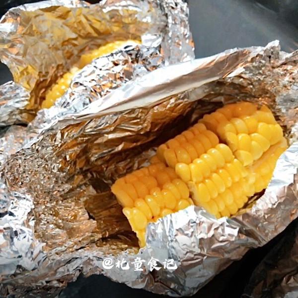 10分钟搞定!软糯香甜的黄油焗玉米的做法