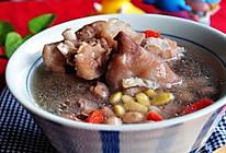花生黄豆猪手汤的做法