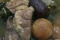 菜干猪肺汤的做法