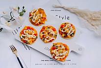 中西合璧~饺子皮版快手披萨的做法