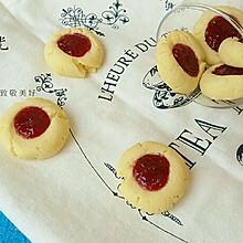 奶香草莓饼干