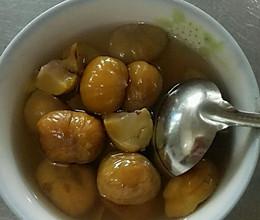 糖煮栗子的做法
