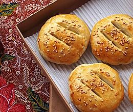 老婆饼 - 南瓜籽油版本的酥皮#寻人启事#的做法