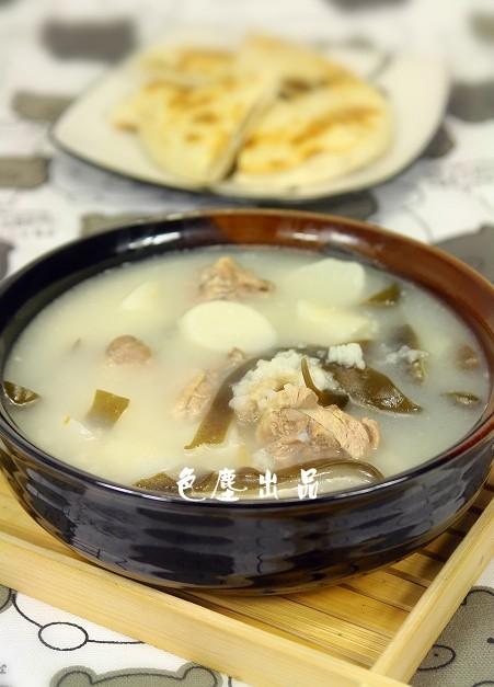 鸭肉海带萝卜粥——秋季润肺去燥的做法