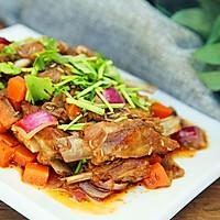营养下酒菜--干煸孜然小羊排的做法图解19