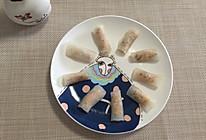白萝卜鸡肉卷的做法