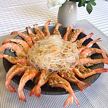养肥老公的36道菜:04蒜蓉蒸虾
