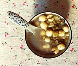 夏日降火—绿豆莲子汤的做法