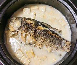 #餐桌上的春日限定#鲫鱼豆腐汤的做法