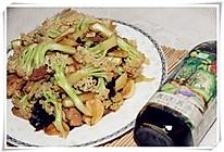 之蒜香菜花#豆果菁选酱油试用#的做法