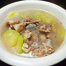 西葫芦大骨汤