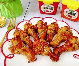 #一勺葱伴侣,成就招牌美味#孩子直呼好吃的酱香烤鸡翅根