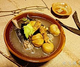 人参煲乌鸡板栗汤的做法