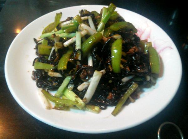 蕨根粉炒肉末的做法