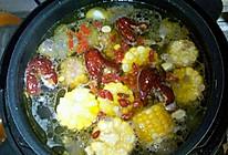 秋冬玛卡玉米山药乌鸡汤的做法