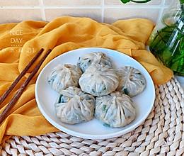 #秋天怎么吃#韭菜鸡蛋水晶包的做法