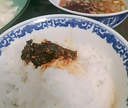 牛肉酱豆花饭的做法