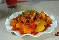 番茄土豆烧腊鸭腿的做法