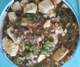 肉末豆腐清淡版的做法