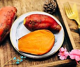 #洗手作羹汤#蒸红薯的做法