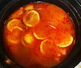 番茄柠檬鱼锅的做法