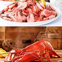 焗加拿大北极虾酿加拿大龙虾的做法图解1