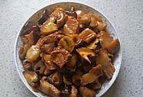 原汁原味的口蘑烧肉的做法