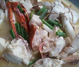 螃蟹豆腐汤的做法